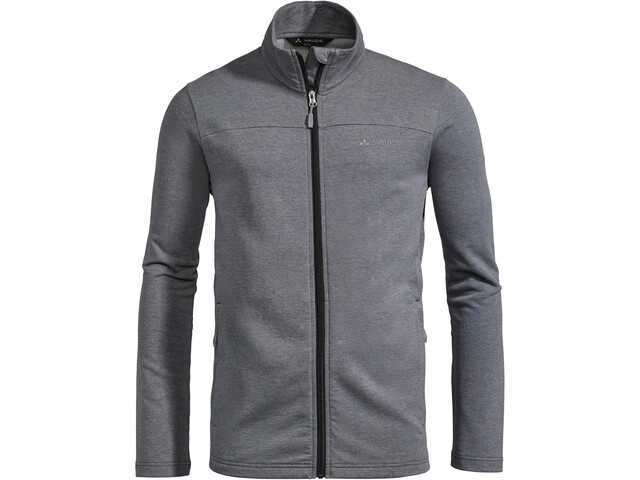 VAUDE Valua Chaqueta Polar Hombre, phantom black